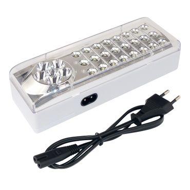 Notleuchte 24+6 LEDs inkl. Akku 4V 1.2Ah – Bild 1