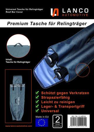 Lanco Premium Tasche für Relingträger, universal, 1 Stück – Bild 6