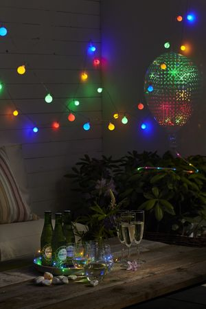 "LED-Partykette ""Berry"", 50 warmwhite LED, – Bild 7"
