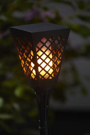 """LED-Solar-Fackel """"Flame"""", imitiert Feuer,amber LED – Bild 3"""