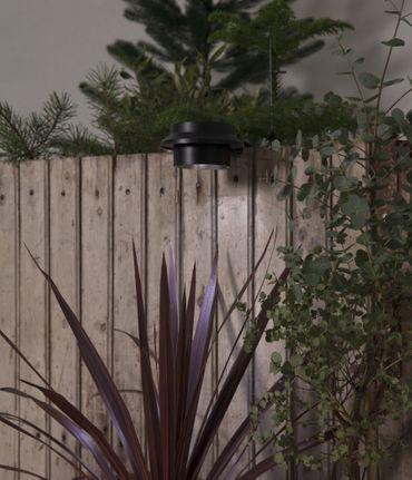 "LED-Solar-Wandleuchte ""Fency"", Kunststoff, 12x6 cm – Bild 5"