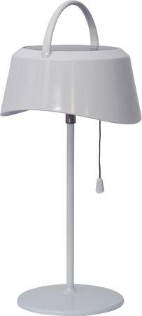 """LED-Solarlampe-""""Cervia"""", weiss, Kunststoff, – Bild 2"""