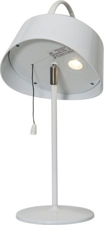 """LED-Solarlampe-""""Cervia"""", weiss, Kunststoff, – Bild 4"""