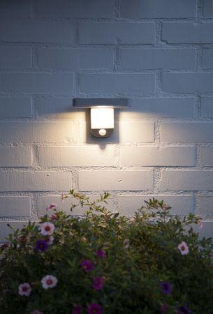 "LED-Solar-Wandleuchte ""Malta"", Kunststoff, 18x12cm – Bild 9"