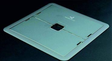 Innovativer, superflacher Laptop Stand 7-stufig verstellbar,  Material Edelstahl,  Space grau – Bild 3