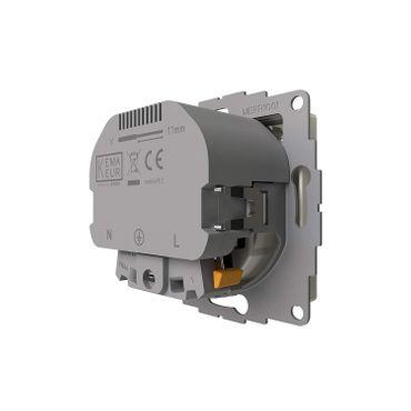 2USB Schutzkontakt-Steckdose inCharge Pro5502, reinweiß matt – Bild 6
