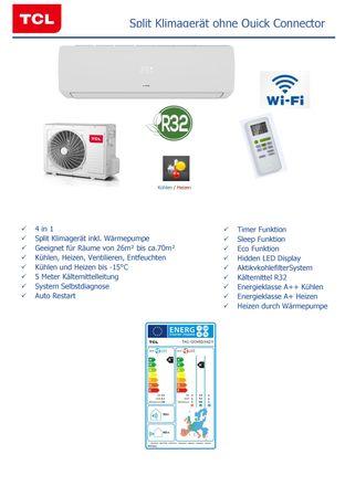 Split-Klimaanlage 12.000 BTU, ohne Quick Connector, mit Wi-Fi, geeignet für Serverräume – Bild 5