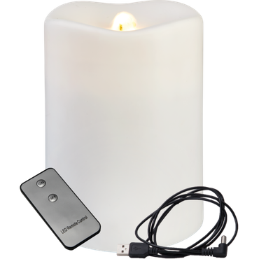 "LED-Dekokerze/-brunnen ""Water Candle"", 1 warmweiße LED – Bild 2"