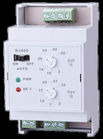 RJ402 Temperatur-Differenzschalter zur Differenzschaltung bei Heizung oder Solarsystem