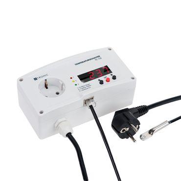 H-Tronic TS 125 plus Temperaturschalter Temperaturregler Thermostat - 55 bis +125 ° C – Bild 1