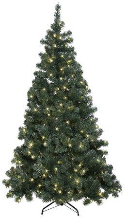 BUVTEC Best Season 609-01 LED-Weihnachtsbaum Ottawa, beleuchtet ca. 210 cm, 260 LED, Outdoor mit Standfuß – Bild 1