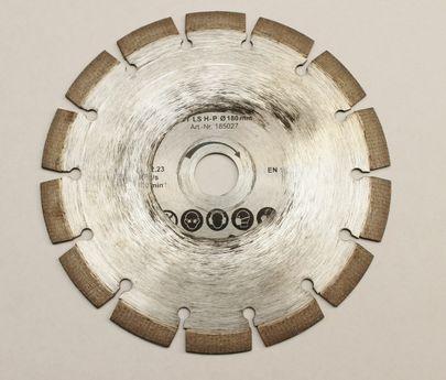 REMS Universal Diamant Trennscheibe LS H-P Turbo 180 mm 185027 Krokodil Nutfräse – Bild
