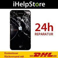 Austausch der Displayscheibe inkl. Touchelektronik und LCD-Bildschirm - iPhone 4 Schwarz