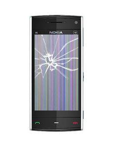 Austausch der Displayscheibe inkl. Touchelektronik und LCD-Bildschirm - Nokia X6