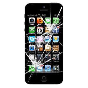 Austausch des LCD-Bildschirm inkl. Displayscheibe und Touchelektronik - iPhone 8 Schwarz