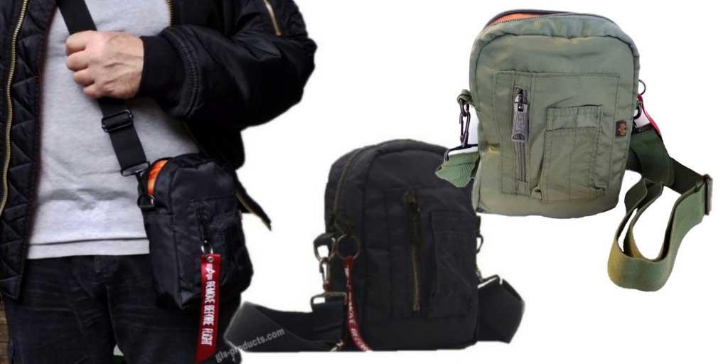 Alpha Industries Crew Carry Bag 196924 Shoulder