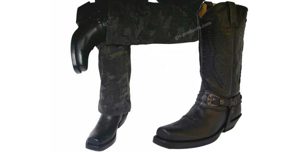 Mezcalero/Rancho Biker Boots 9064 black