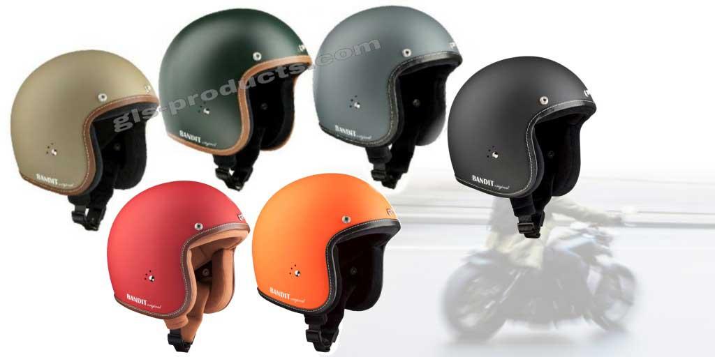 Bandit Helmets Premium Jethelm by gls-products