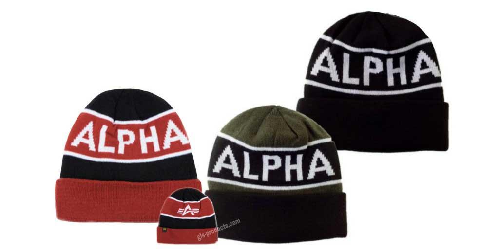 Alpha Industries Block Beanie 188905