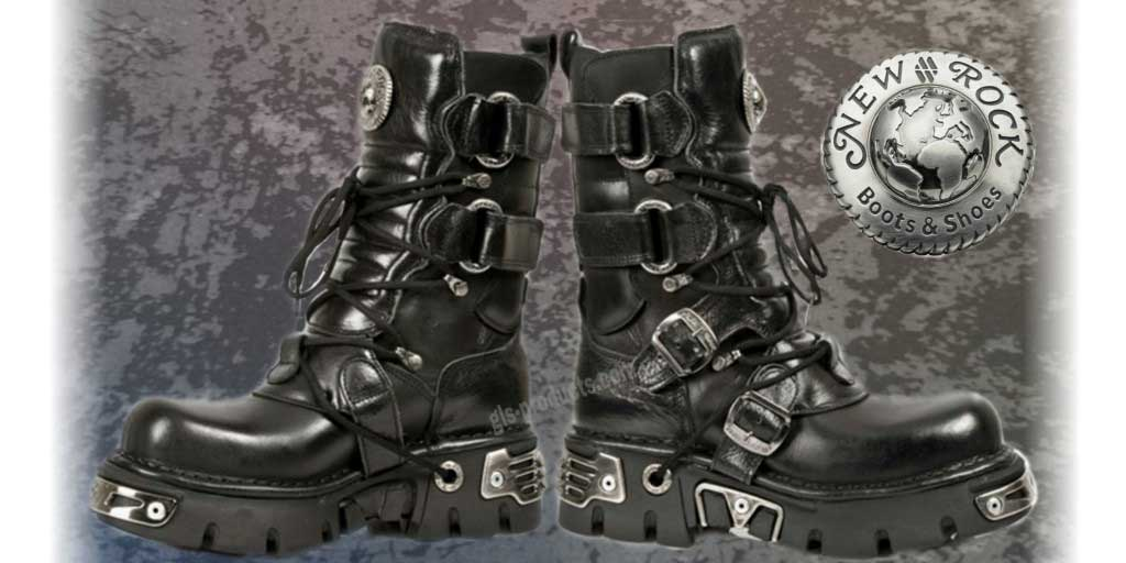 New Rock Boots 575