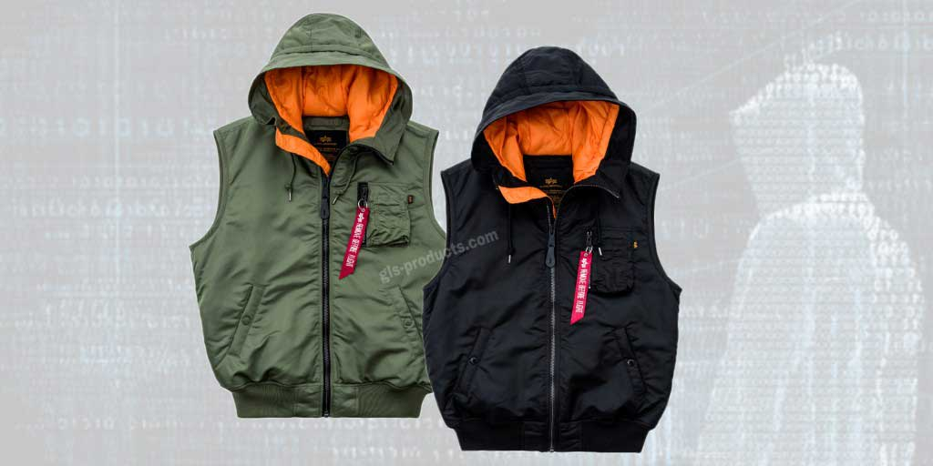 Alpha Industries Hooded MA-1 Vest 178132