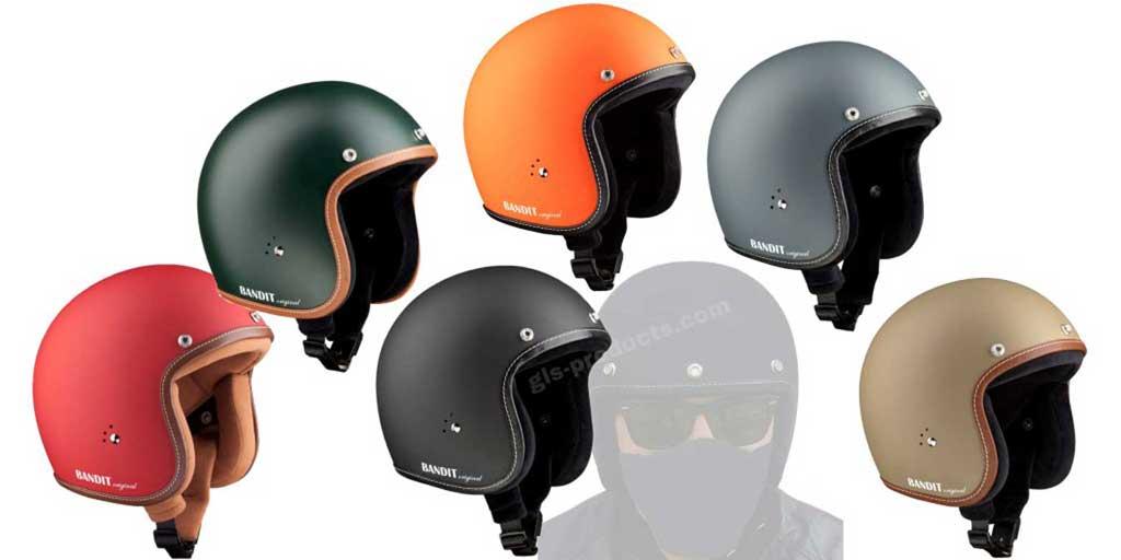 Bandit Helmets Premium Open Face Helmet