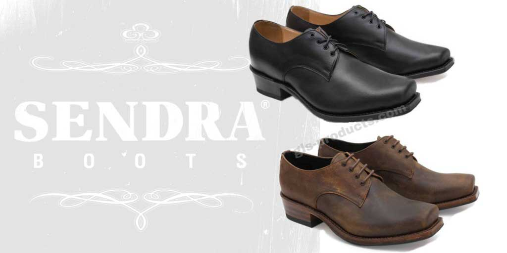 Handmade Sendra Biker Shoes 530