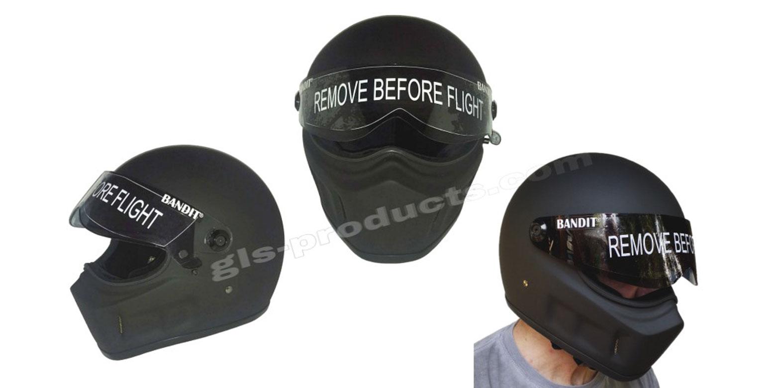Bandit - Super Street 2 - New Motorcycle Helmet - for Streetfighter