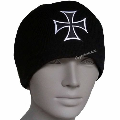 US Beanie Iron Cross – Bild 1