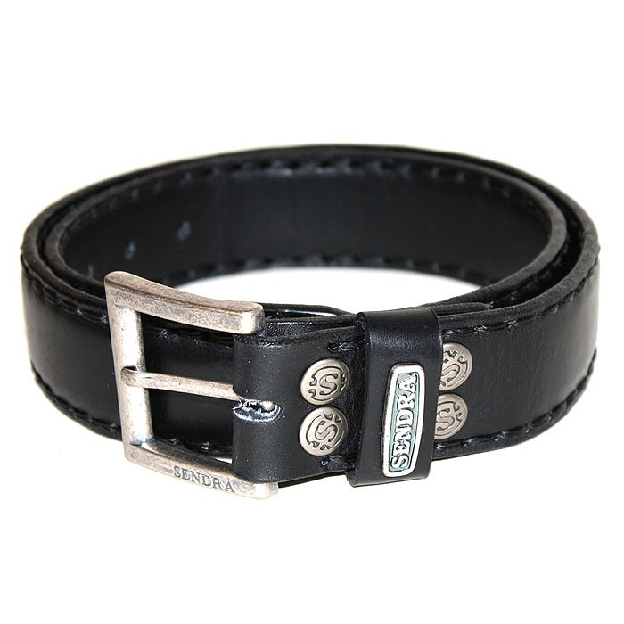 Sendra Handsewn full padded Leather Belt without decoration