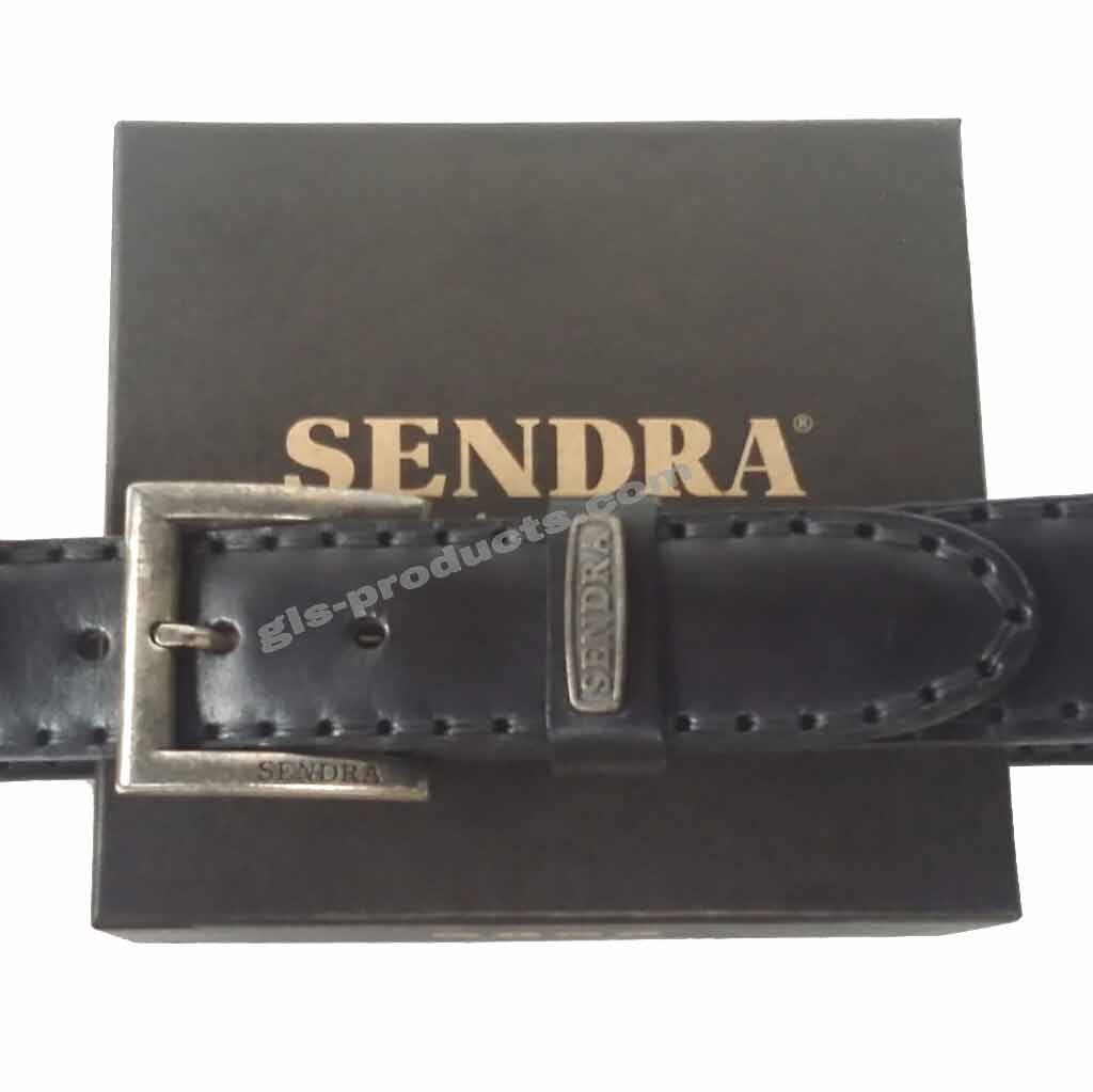 Sendra Handsewn full padded Leather Belt without decoration – Picture 7