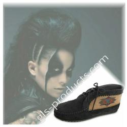 Minnetonka El Paso Ankle Boot schwarz Größe 42 – Bild 2