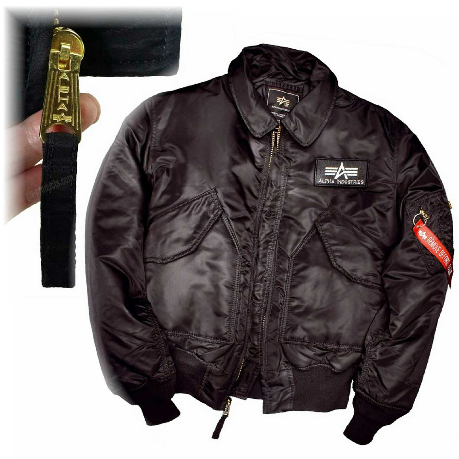 Alpha Industries Flight Jacket CWU 45 100102 – Picture 3