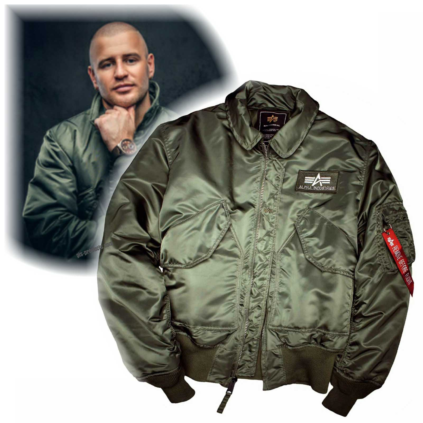Alpha Industries Flight Jacket CWU 45 100102 – Picture 4
