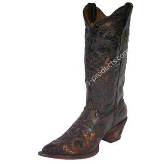 Cuadra Musgo Python Women's Western Boots – Picture 1