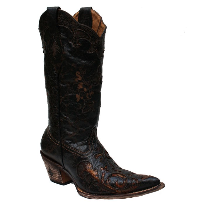 Cuadra Musgo Python Women's Western Boots – Picture 2
