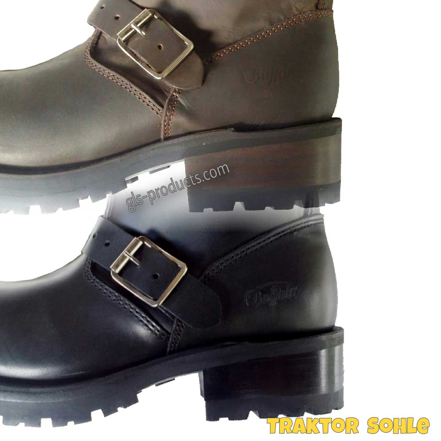 Buffalo Engineer Boots with Steeltoe – Picture 2