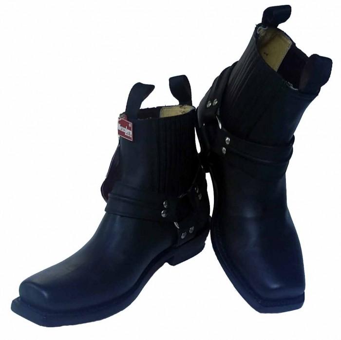 Mezcalero Ankle Biker Boots – Picture 6