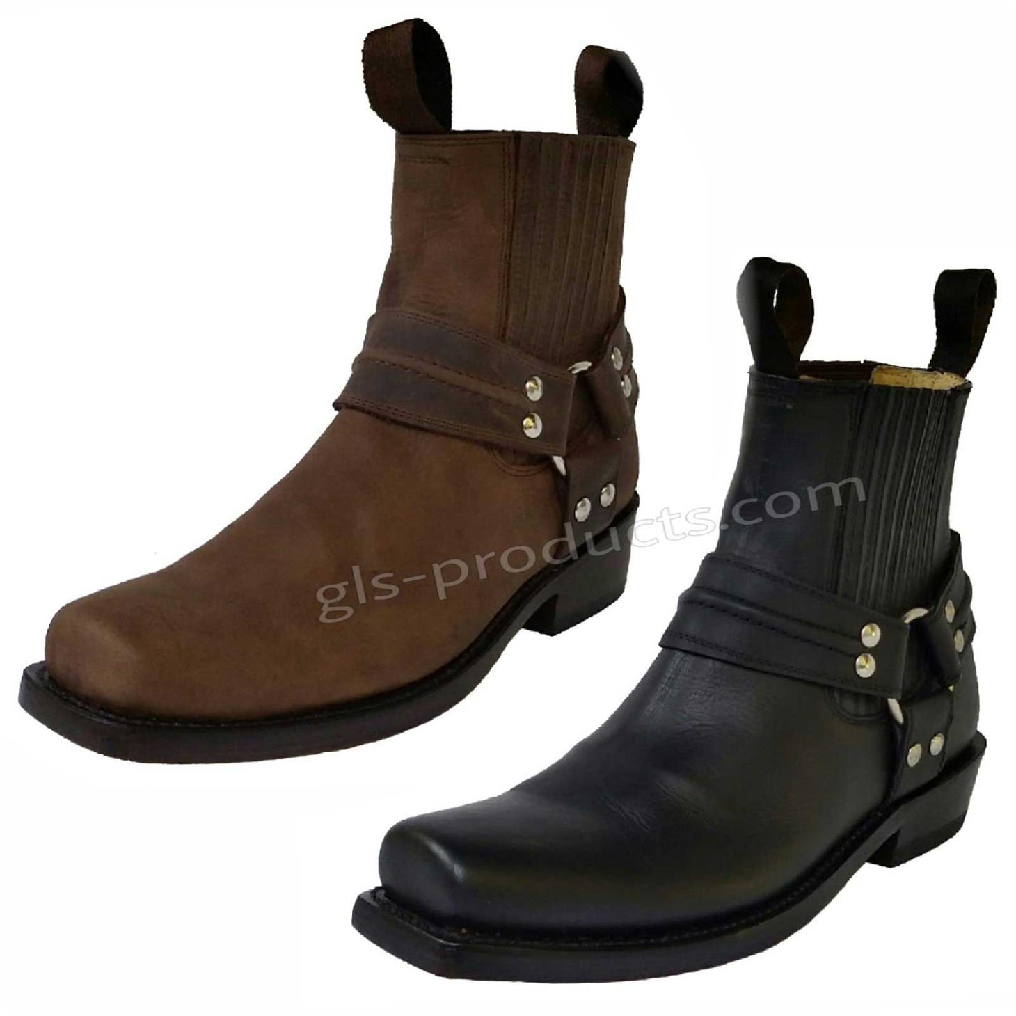 Mezcalero Ankle Biker Boots – Picture 1