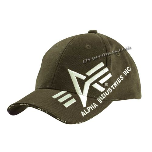 Alpha Industries Base Caps – Bild 3