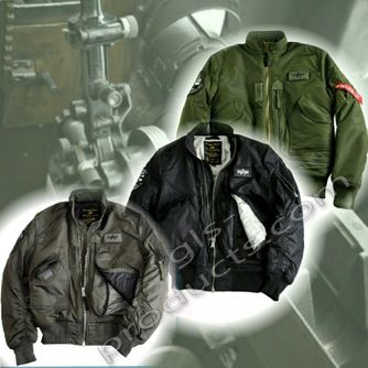 Alpha Industries Flight Jacket Engine 103101 – Picture 4
