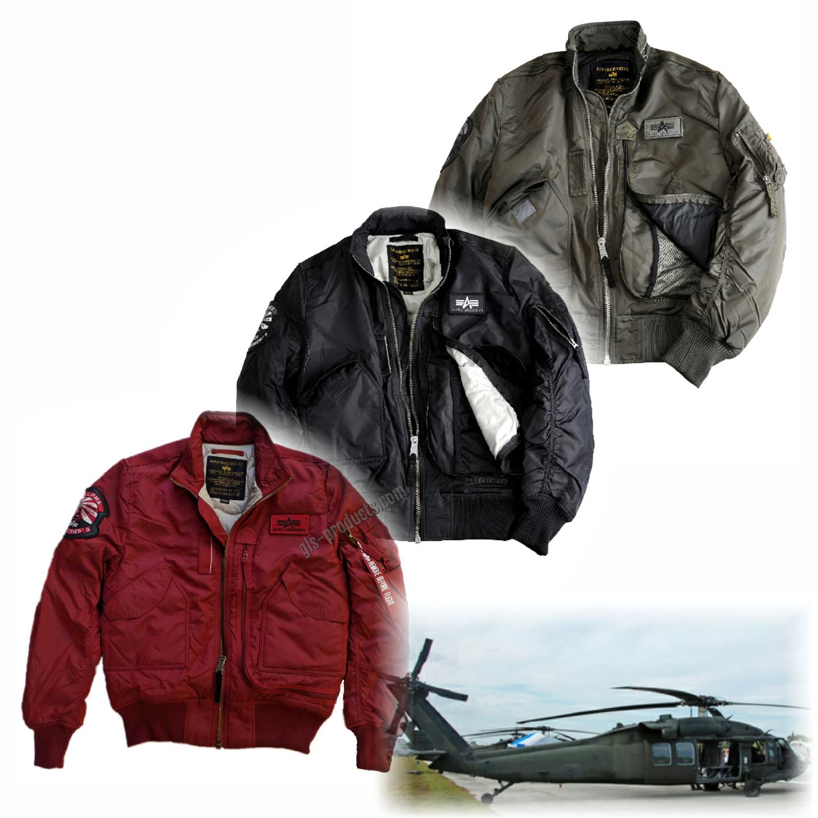 quality design ed3bd 328a1 Alpha Industries Flight Jacket Engine 103101