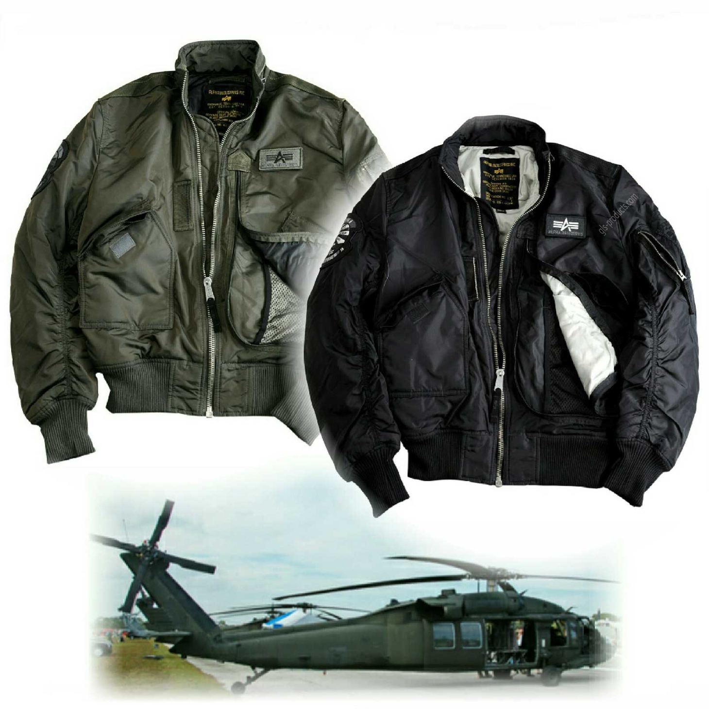 Alpha Industries Flight Jacket Engine 103101 – Picture 1