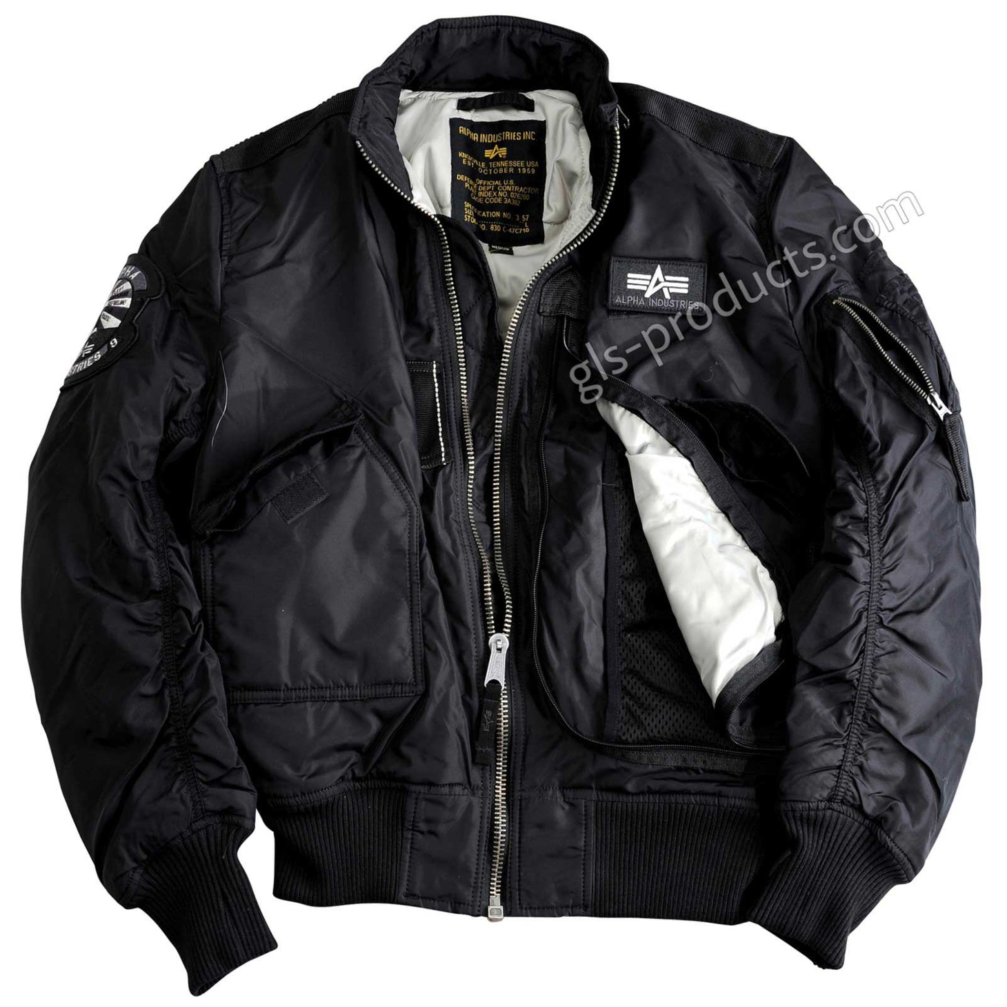 Alpha Industries Flight Jacket Engine 103101 – Picture 2