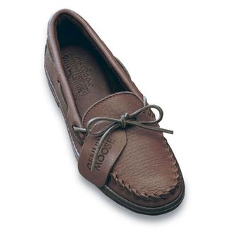 Minnetonka Men's Moosehide Classic Moccasins – Picture 2
