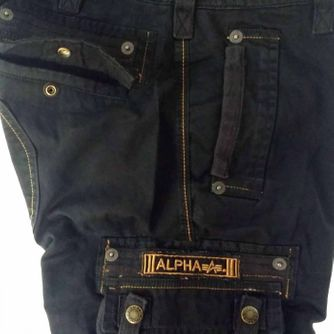 Terminal oliv, Alpha Industries Short – Picture 6