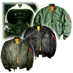 Alpha Industries Flight Jacket MA-1 100101