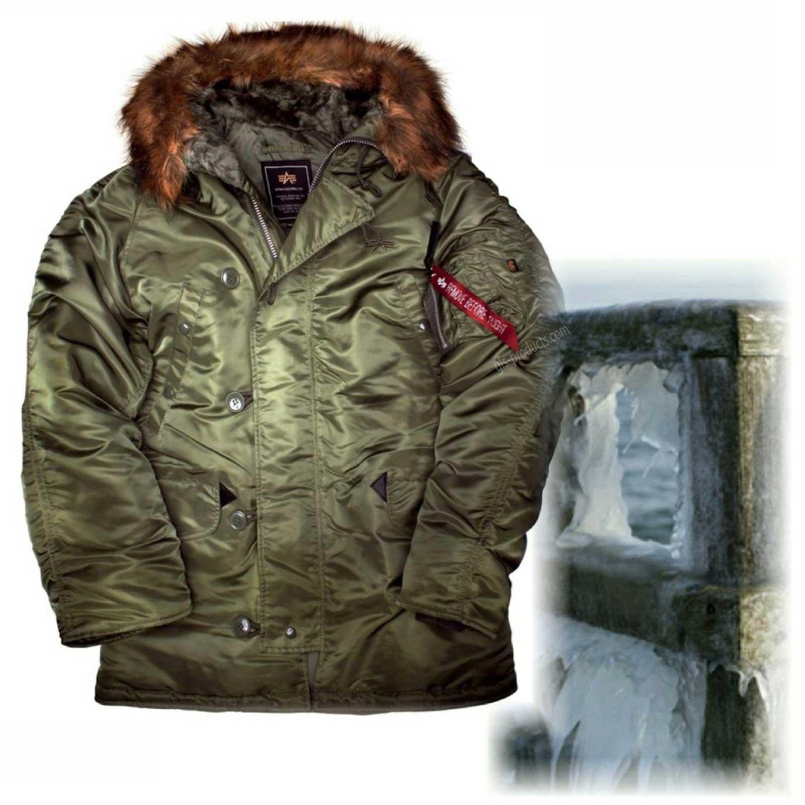 competitive price 3ebf4 499e9 Alpha Industries N3B Winter Parka 100106
