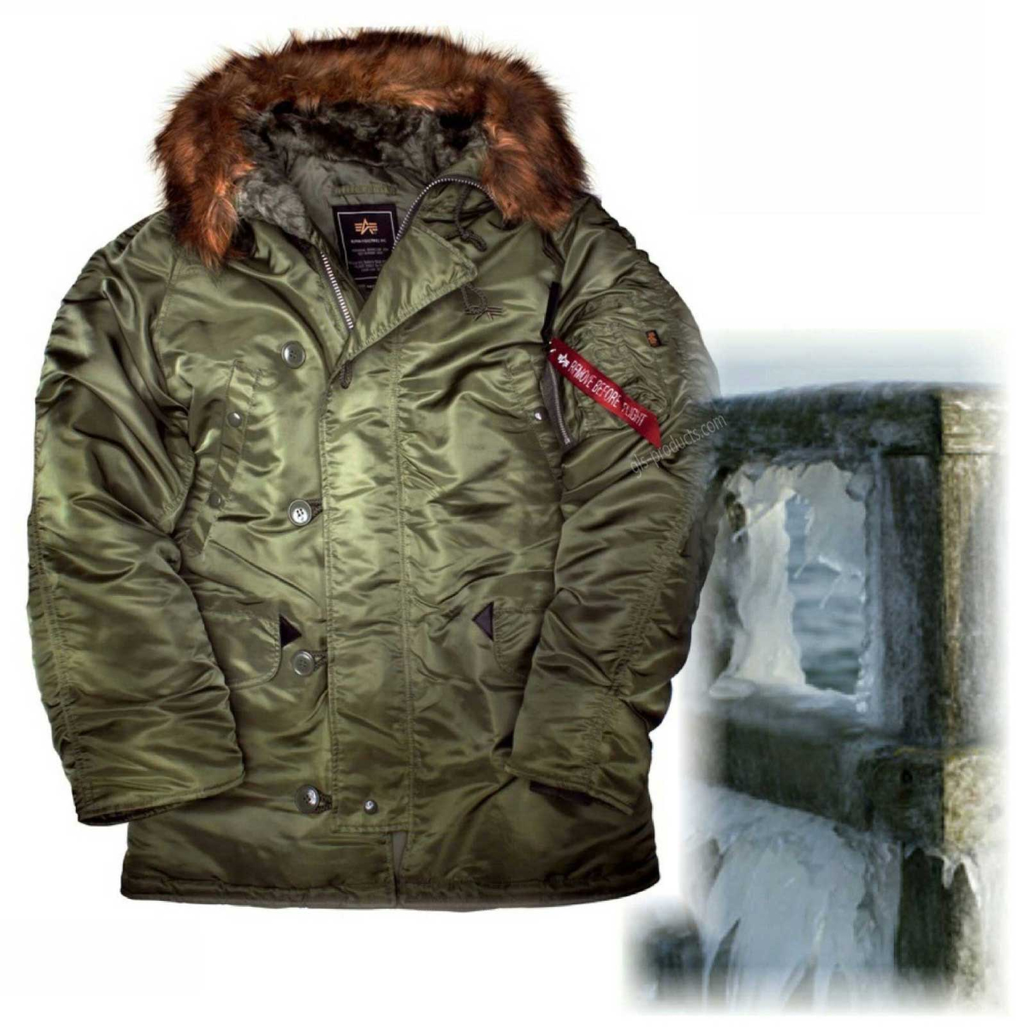 Alpha Industries N3B Winter Parka 100106 – Picture 1