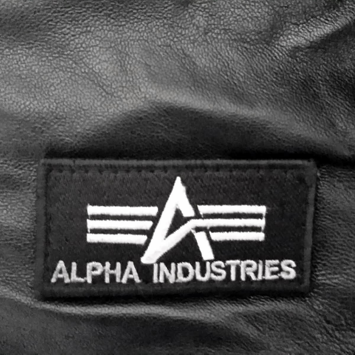 Alpha Industries MA-1 D-Tec Leather 193129 – Picture 2